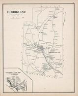 Brookline, Brookline Town, New Hampshire State Atlas 1892 Uncolored